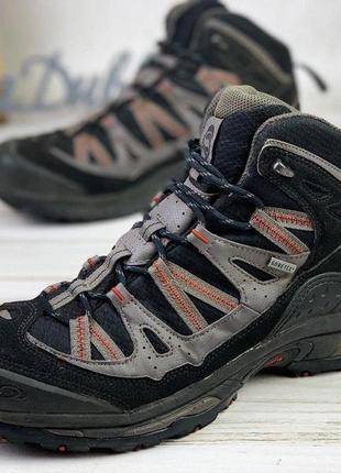 Трекинговые ботинки зимние gote tex salomon