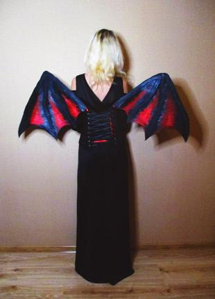 Крылья демона готика хэллоуин