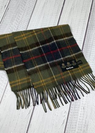 Тёплый шарф barbour original