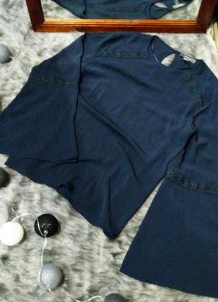 Свободная блуза с объемными рукавами primark