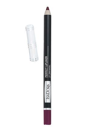 Isadora карандаш для губ perfect lipliner №52