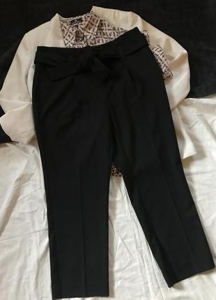 Чорні штани від next petite розмір eur 38, uk 10, сяде на м, можливо l
