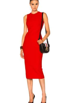 Платье по фигуре плотное от victoria beckham размер 10