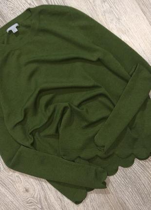 100% шерстяной свитер в стиле оверсайз в крутой расцветке от cos