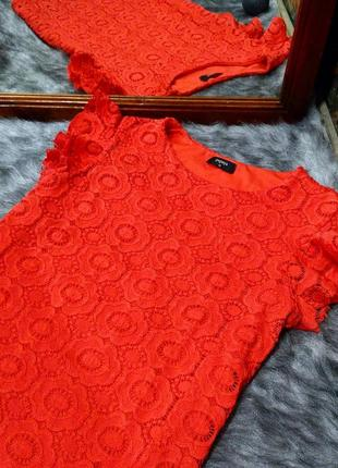 Блуза кофточка из кружева гипюра papaya
