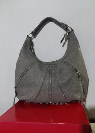 Базовая стильная сумочка экокожа