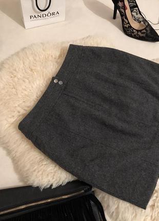 Роскошная и уютная тёпленькая шерстяная юбка на р.с/36  ... 💋❤️🍓