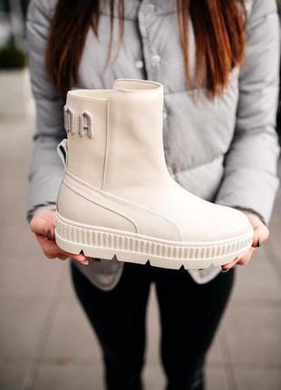 "Pumа by rihanna chelsea sneaker b00t ""vanilla ice"""