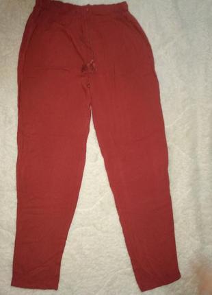 Тонкие брюки есмара