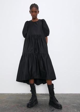 Нереально крутое хитовое платье zara