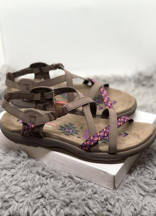 Коричневые спортивные сандалии, босоножки бренд