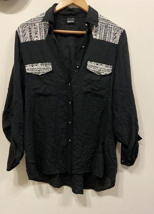 Блуза gina tricot  100% viscose #382. 1+1=3🎁