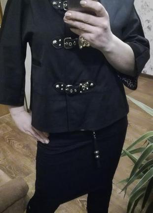 Стильный брендовый пиджак,накидка,м