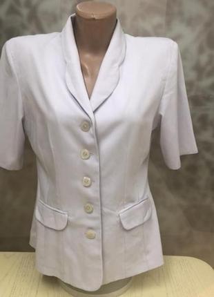 Брендовый пиджак нежно лавандового цвета