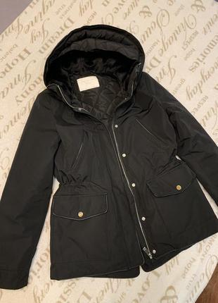Зимняя парка куртка zara