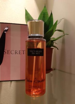 Victoria secret, amber romance, мист, оригинал, сша.