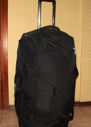 Очень большая (77х40х40см) дорожная сумка swissgear на колесах с ручкой