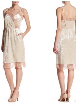 Платье миди в бельевом стиле тренд из сша пролет