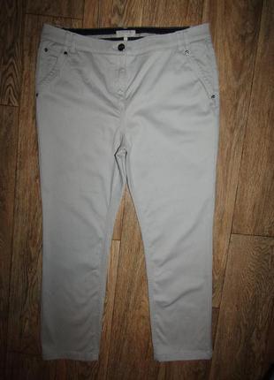 Брюки укороченные брюки р-р хл-16 бренд per una