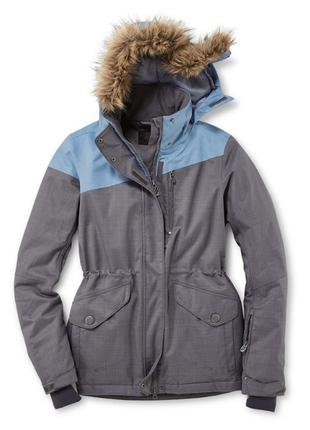 Лыжная термо куртка с покрытием thinsulate , мемб3000, tchibo размер 36 евро=42-44