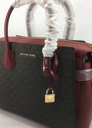Деловая структурированая сумочка mk