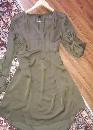 Платье/туника/ длинная рубашка для беременной от h&m mama