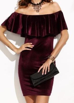 Нарядное.бархатное платье.