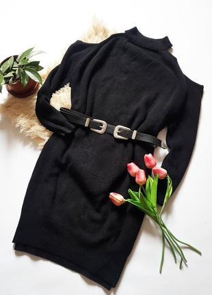 Платье - туника c открытыми плечами от riverisland