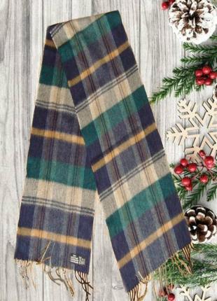⛄⛄100% кашемир теплый мужской шарф с бахромой германия ⛄⛄⛄