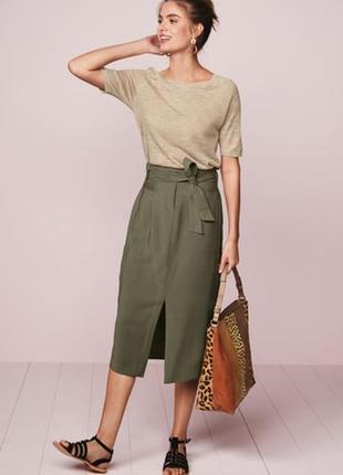 Новая юбка next с карманами р.12 (42)
