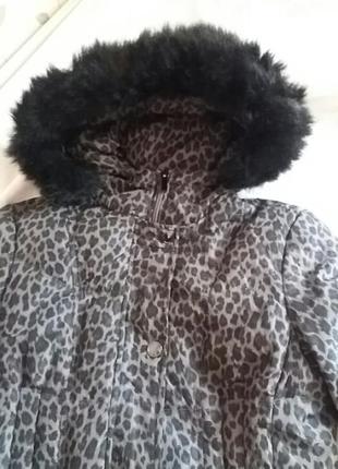 Куртка пуховик зимова