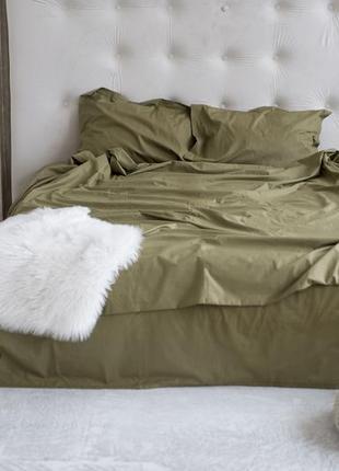 Постільна білизна оливкова (постельное белье)
