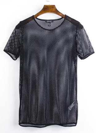 Женская футболка-сетка