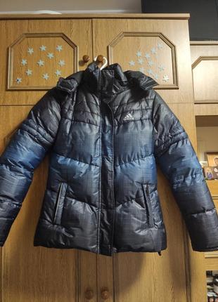 Куртка зимняя adidas clima proof