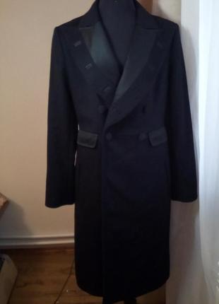 Довге шерстяне пальто stella mccartney for h&m