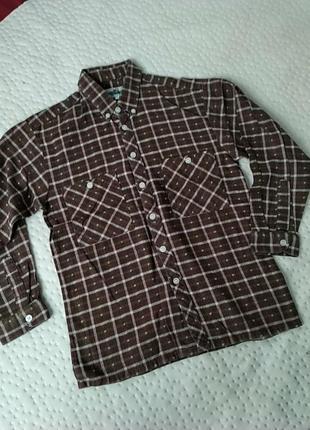 Рубашка фланелевая.