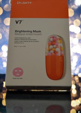 !распродажа! dr. jart+ - v7 brightening mask (осветляющая маска с витаминным комплексом)