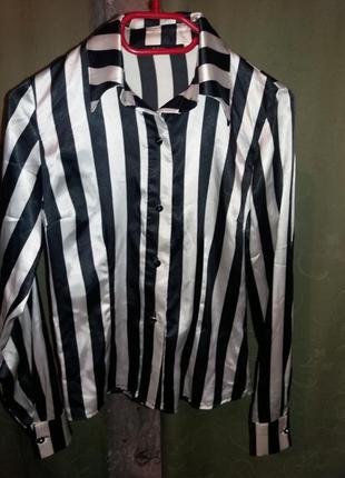 Очень красивая рубашка в полоску