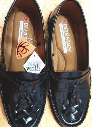 Туфли мужские новые на широкую ножку размер 42-43