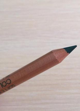 Карандаш для глаз, зелений олівець для очей.