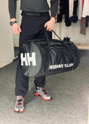 Сумка-рюкзак helly hansen 70l чёрная