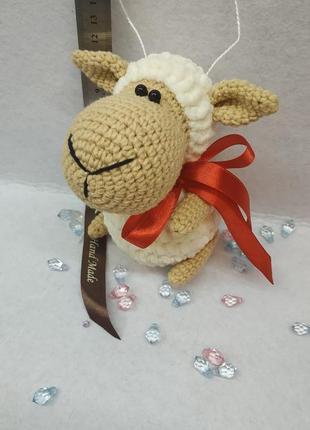 Брелок плюшевая овечка 💖