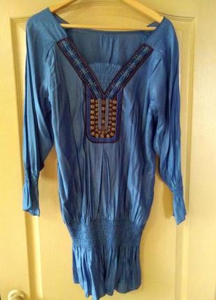 Туника-платье в этно стиле