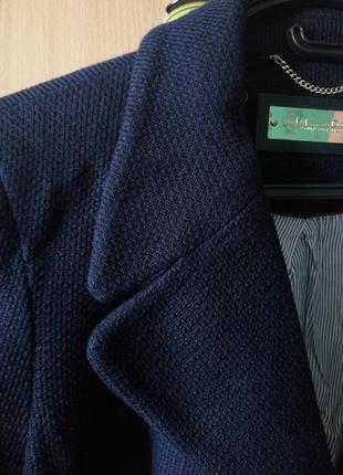 Полупальто/ пальто / куртка / кашемир / синий