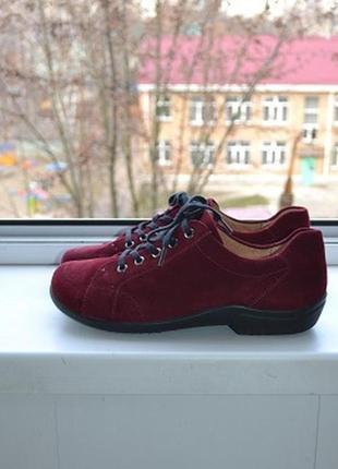 Супер легкие замшевые туфли ladysko швейцария