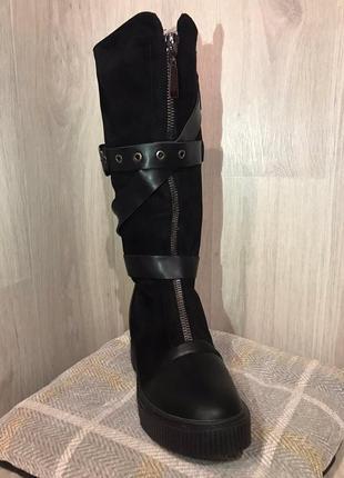 Сапоги зимние ботинки зима