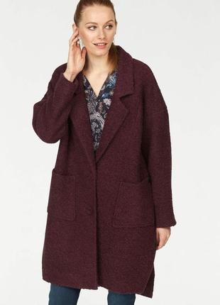Стильное новое трендовое пальто демисезонное оверсайз soyaconcept р.xl