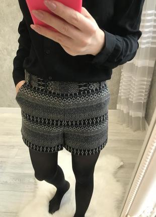 Шерстяные шорты/ зимние шорты