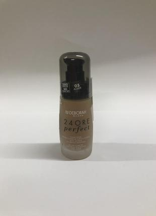 Тональний крем debora 24ore perfect foundation