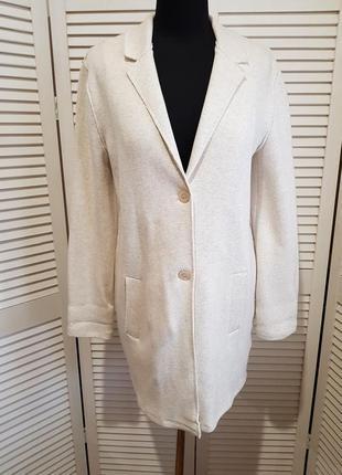 Стильный светлый пиджак кардиган жакет cartoon